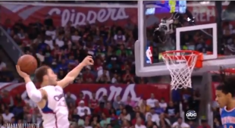 Watch Blake Griffin Detonate a Crazy One-Hand Alley-Oop on the …