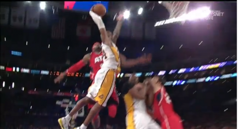Watch Kobe Bryant Dunk on Josh Smith Like It's 1997