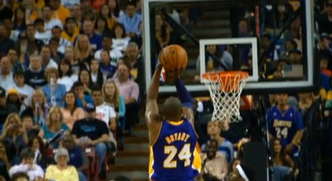 Watch Kobe Bryant Pass Wilt Chamberlain in Super Slow Motion HD