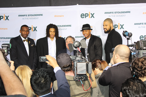 "An Inside Look At The New EPIX Original Documentary ""Amar'e Sto…"