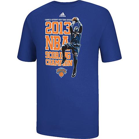 Official adidas Commemorative Carmelo Anthony 2012-13 NBA Scori…