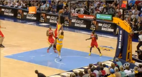 Houston Rockets' James Anderson Dunks on Evan Fournier's Face