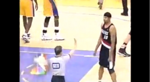 rasheed wallace ejection