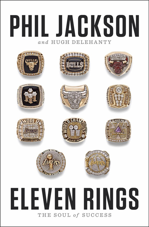 "The Cover Of Phil Jackson's Newest Book ""Eleven Rings"" Is Sick"