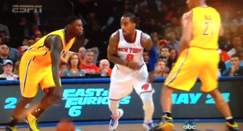 J.R. Smith Goes All Out Attempting To Create The Greatest Flop …