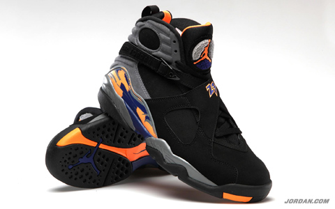 Phoenix Suns-Styled Air Jordan 8 Retro Dropping This Weekend