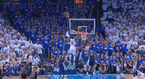 Kevin Durant Unleashes One Of The Best Plays Of The Season