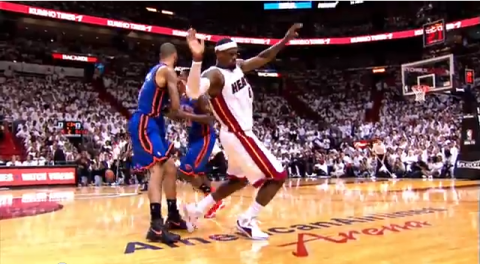 LeBron James' 11 Worst NBA Flops