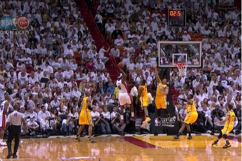 Here is LeBron James' Absurd Pass to Mike Miller for a Buzzer-B…