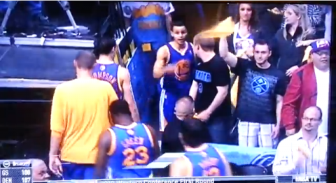 Stephen Curry Gets Into It With Nuggets Fan (Updated with More …