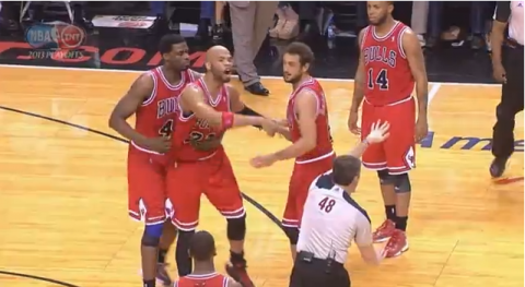 "Taj Gibson Gets Ejected, Yells ""F*ck You, Motherf*cker"" at Ref…"