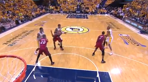 Another Epic LeBron James Flop
