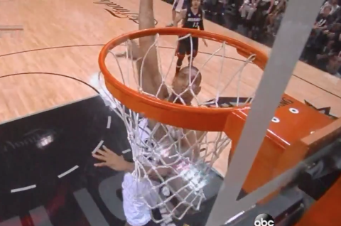 Memo To Mario Chalmers: Don't Try To Block Tim Duncan's Dunk Ev…