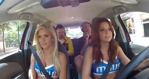 "Watch Dirk Nowitzki Sing ""Satisfaction"" In the Back Seat Of A C…"