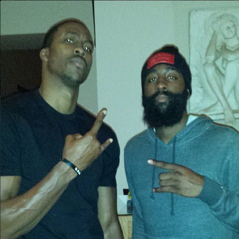 James Harden & Dwight Howard Both Post Instagram Photos Of …