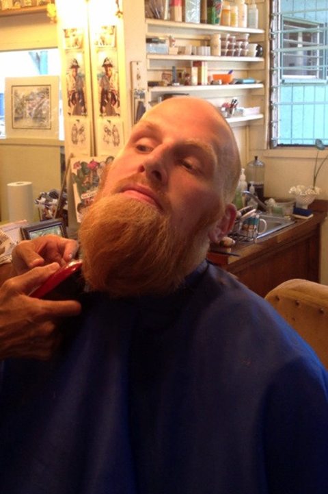 Chris Kaman's Beard May Be Dead