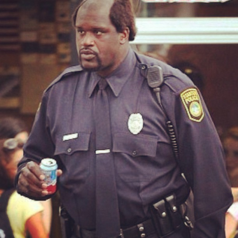 Shaquille O'Neal Sworn In as Part-Time Florida Police Officer I…
