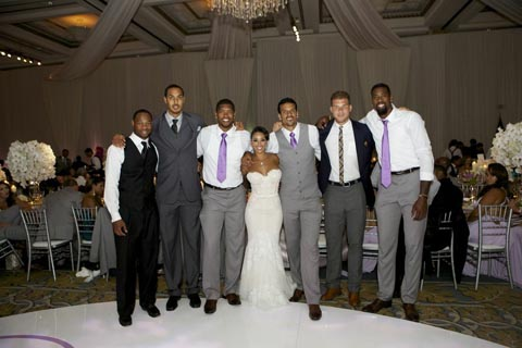 Clippers Forward Matt Barnes Weds In Front Of A Star-Studded NB…
