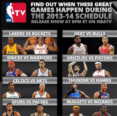 The Top 20 Games To Watch During the 2013-14 NBA Regular Season