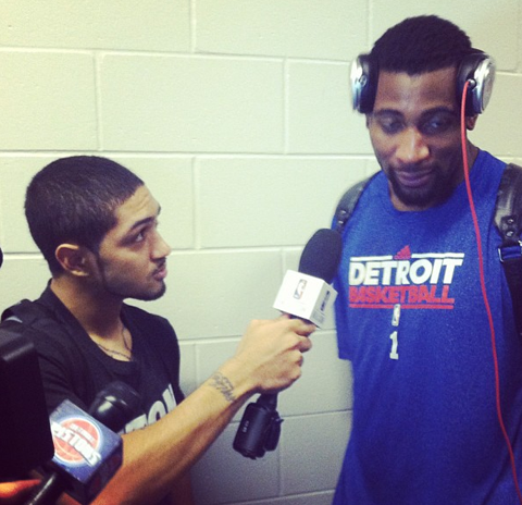 Andre Drummond Brings Detroit's Rookies To Camp Early