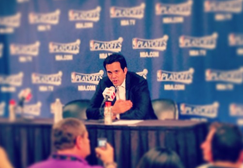Report: Coach Erik Spoelstra Agrees To Extension With Heat