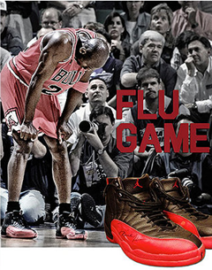 "Bid For Michael Jordan's Autographed ""Flu Game"" Shoes"