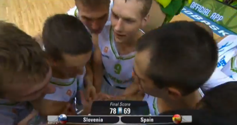 Watch Highlights From Slovenia's Upset Of Spain In EuroBasket 2…