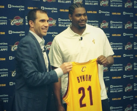 Andrew Bynum Will Miss All Of Cleveland's Preseason Games