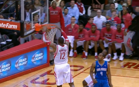 Dwight Howard, James Harden Combine For Alley-Oop Against Orlan…