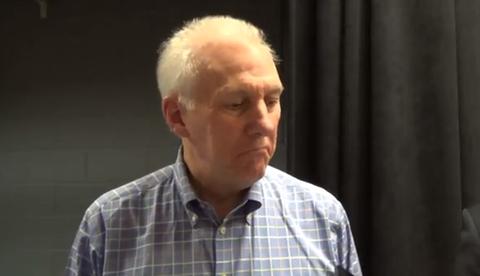 Spurs Coach Gregg Popovich Talks Government Shutdown In Typical…