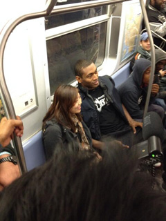 Metta World Peace Rode The F Train To His First Knicks Game