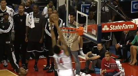 Wizards' Glen Rice Jr. With The Putback Dunk To Force OT