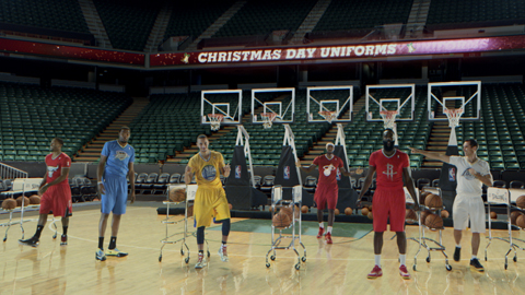 NBA & adidas Unveil Short-Sleeved Christmas Day Uniforms