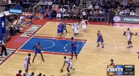 Amar'e Stoudemire Spaces Out On Defense During Knicks Loss