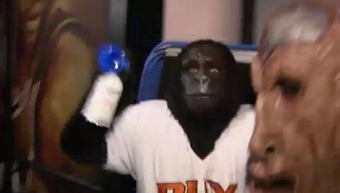 Gerald Green Slaps Suns' Gorilla Mascot During Halloween Prank