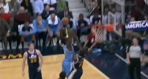 J.J. Hickson's Crunk Dunk Puts Marvin Williams On His Rump