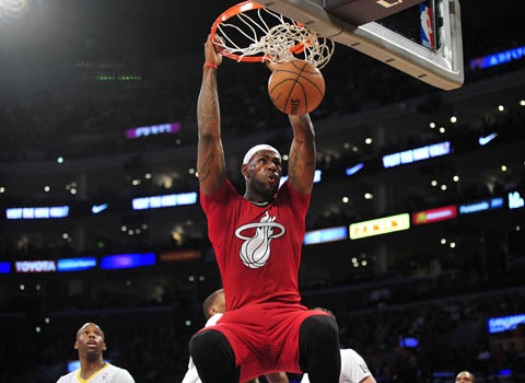 LeBron's 20 Best Dunks In The NBA