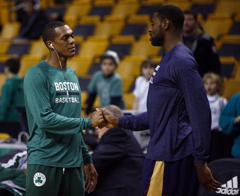 Report: League GM's Believe Celtics Will Deal Rajon Rondo