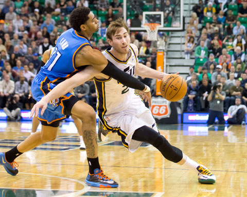 Most Improved Player? Don't Forget About Gordon Hayward