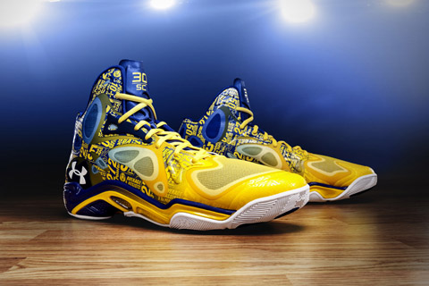 "Stephen Curry's UA Anatomix Spawn ""The Zone"" PEs Celebrate MSG …"