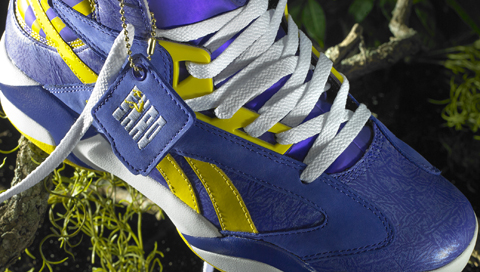 "Reebok Classic Launching Shaq Attaq ""LSU Tigers"" Purple/Yellow …"
