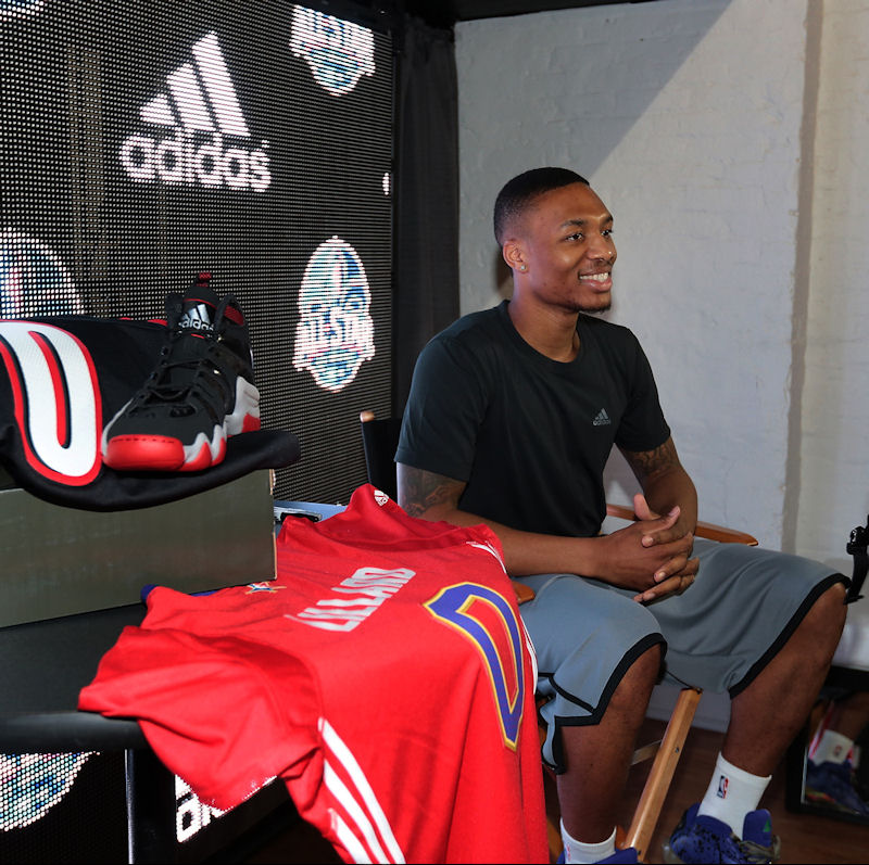 Report: Damian Lillard Close To Signing Multiyear Deal With adi…