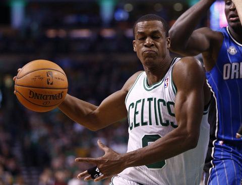Rajon Rondo Really Returned On Sunday