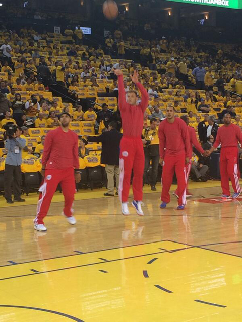 Clippers Protest Donald Sterling Before Game 4 As Other Notable…