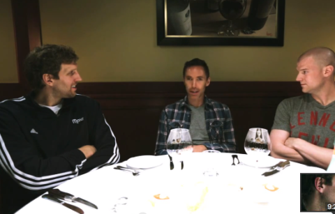 "Steve Nash Dines With Dirk In Episode 4 Of ""The Finish Line"""