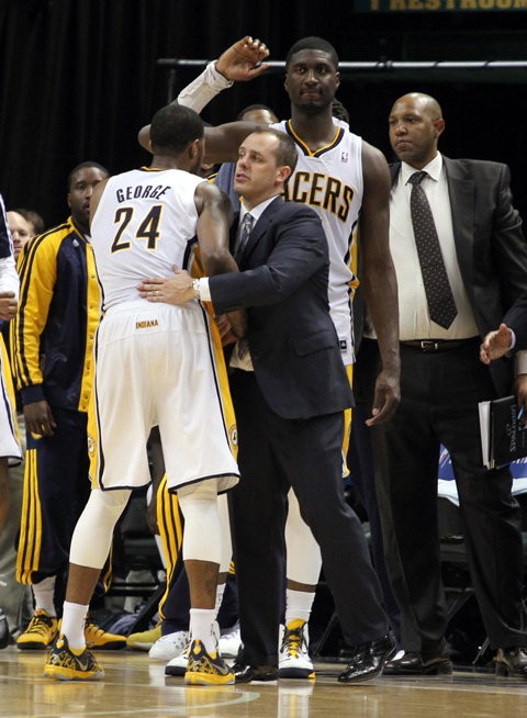 "Report: Indiana's Frank Vogel is ""Coaching For His Job"" In Thes…"