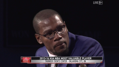 Kevin Durant's Stirring MVP Acceptance Speech