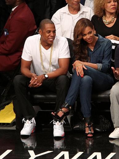 Jay-Z And Beyonce Attend Nets Game On Same Day As Met Gala Cont…
