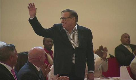 Donald Sterling Attended A Black Church Service