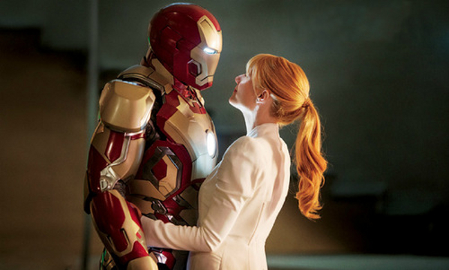 Would You Have Liked 'Iron Man 3' More With A Pepper Potts Sex Tape?